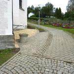 Außenanlage Kirche