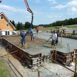 Beschleusung & Fundamentarbeiten EFH Thum